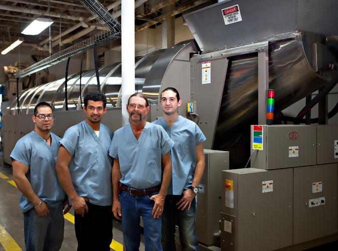 Staff Texas Textile Services 9201 Center Point Drive